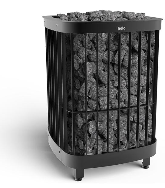 Shows Helo Sauna Heater Saga Electro Model