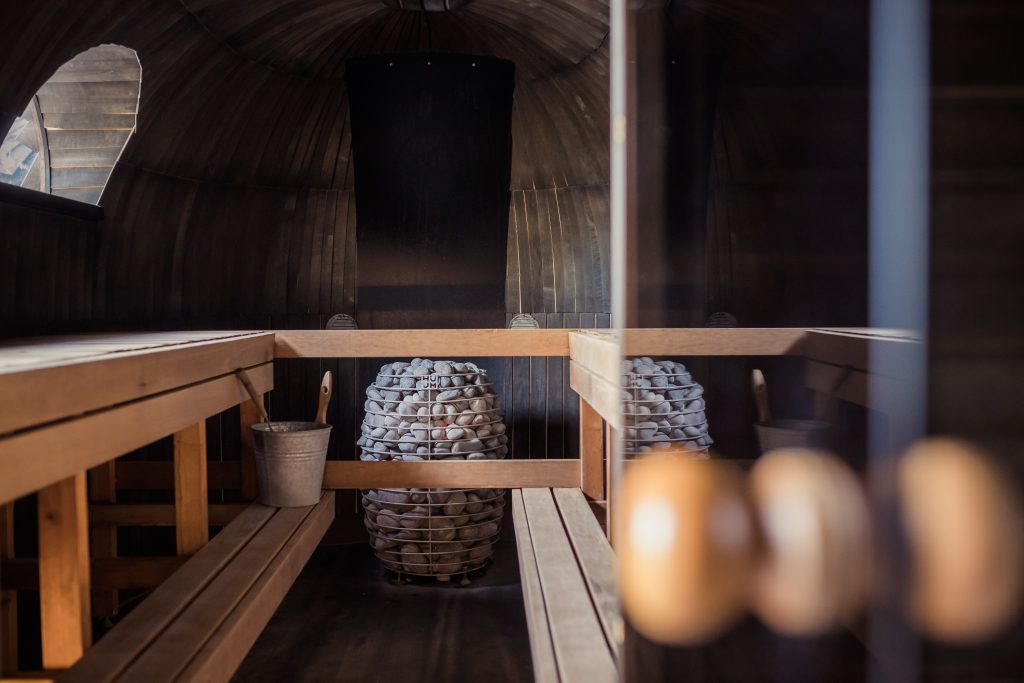 Finnish Sauna - Traditional Way