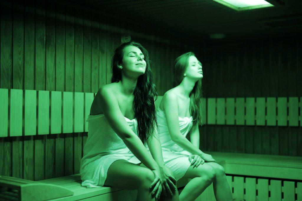 Danger of sauna room