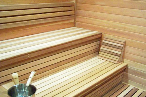 Custom built sauna process