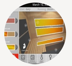 infrared-saunas-android-features-customizable