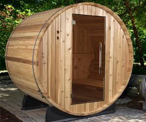 Portable sauna barrel type2