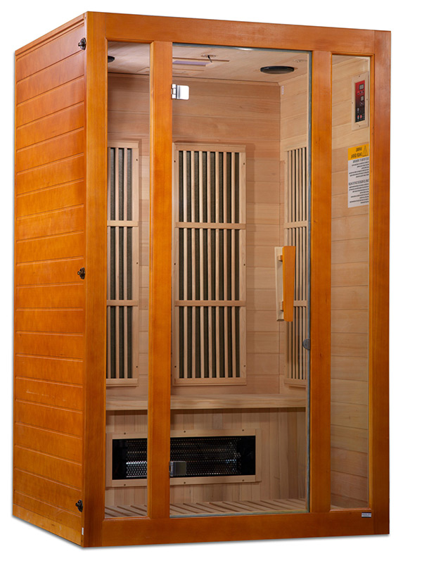 Self assembly sauna isolated