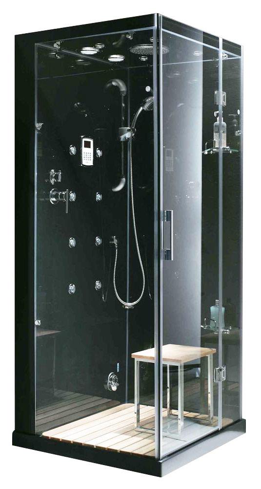 Steam generator shower